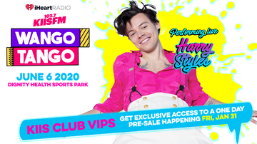 image for Harry Styles Will Perform At iHeartRadio KIIS FM Wango Tango 2020!