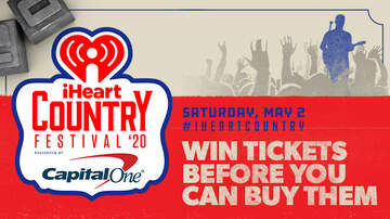 image for Listen To Win Tickets To Our iHeartCountry Festival Before You Can Buy Them