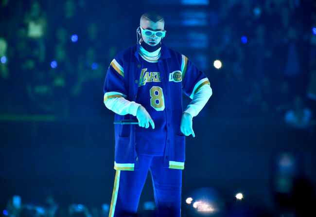Bad Bunny Performs At The Forum