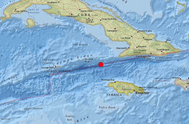 7.7 quake strikes off coast of Jamaica