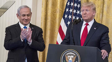 Politics - President Trump's Middle East Peace Plan Includes Two-State Solution