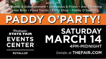 image for Paddy O'Party - St. Patrick's Day Celebration