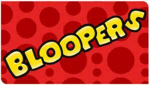 image for Thursday's Blooper Is Here!