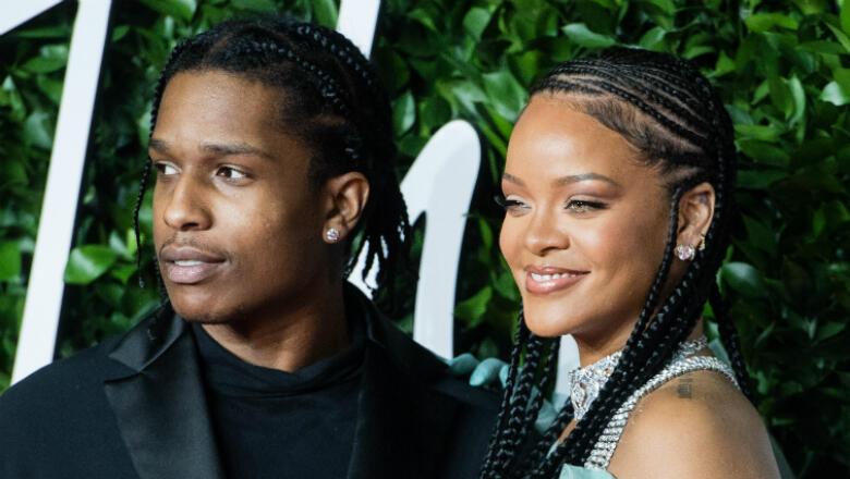 Rihanna Is 'Very Happy' With Boyfriend A$AP Rocky, Source Says