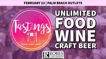 image for Tastings - Saturday, February 22nd @ Palm Beach Outlets