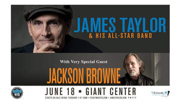 image for James Taylor and Jackson Browne Coming to Hershey