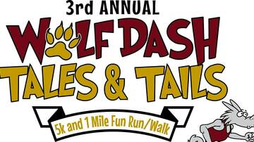 image for 3rd annual Wolf Dash Tales & Tails