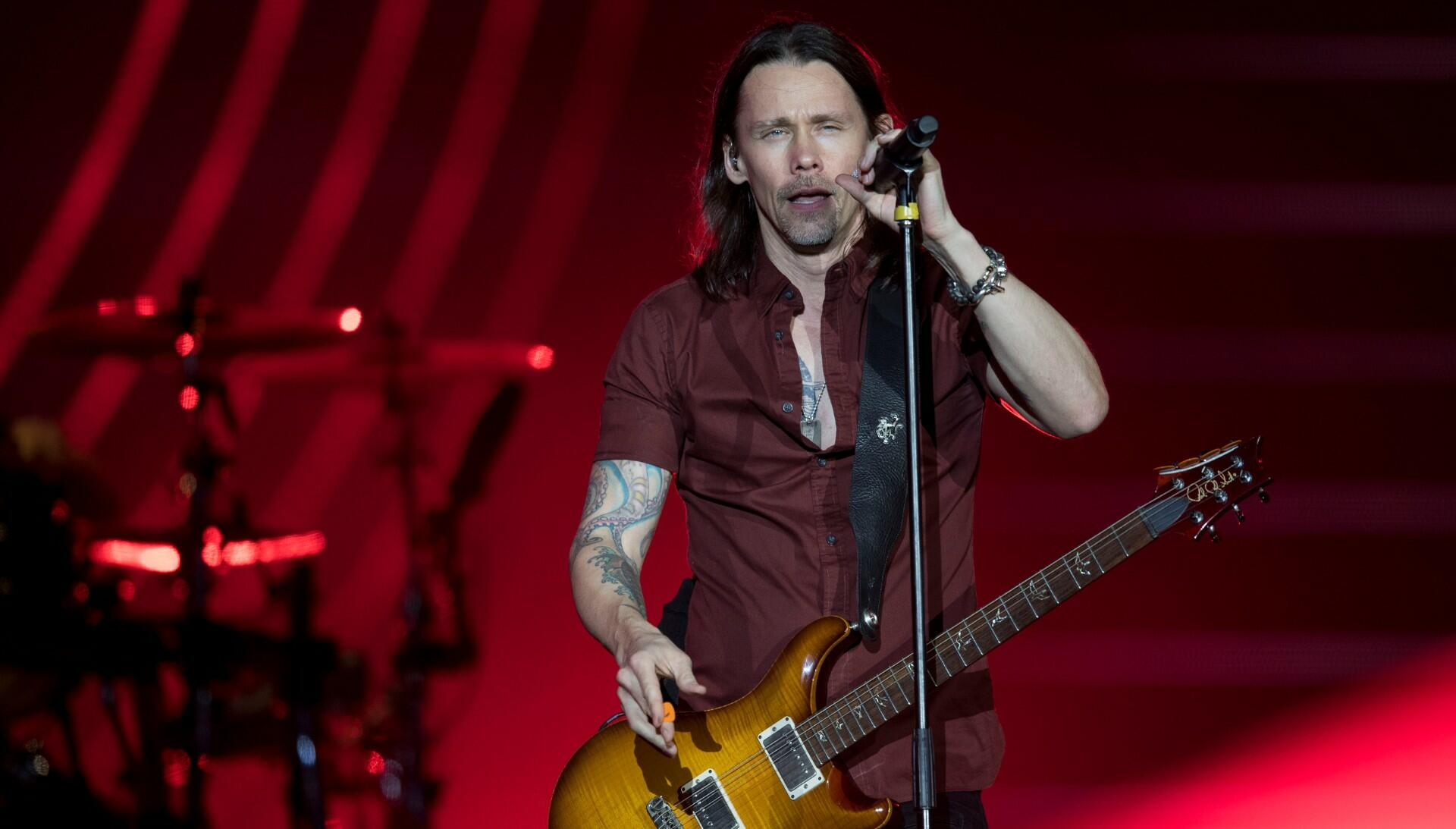 Myles Kennedy Remembers Neil Peart, Explains Why Alter Bridge Shares Credit
