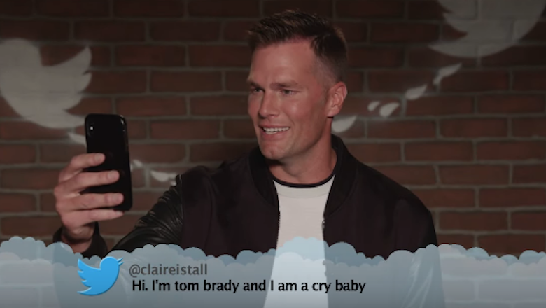 Tom Brady & NFL Players Read Brutal Mean Tweets on 'Jimmy Kimmel Live' | 94.5 The Buzz