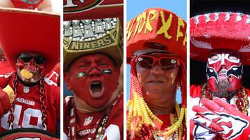 image for Super Bowl LIV: 49ers Fans Vs. Chiefs Fans