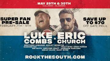 image for Rock the South 2020 | May 29th - 30th