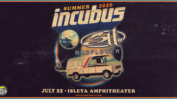 image for Incubus With Special Guest 311 & Badflower