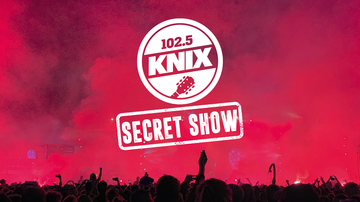 image for 102.5 KNIX Announces The 9th 'Secret Show' Coming To Tempe March 17th