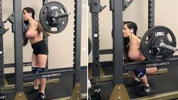 image for Lady Needs A More Secure Sports Bra When Heavy Lifting