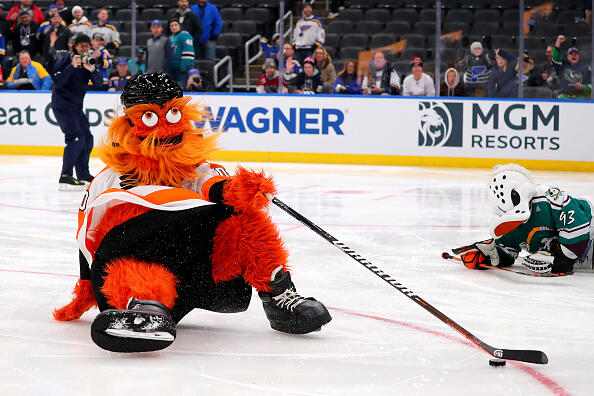 "Criminals: Philadelphia Flyers Mascot ""Gritty"" Assault Update! | The Rod Ryan Show | 94.5 The Buzz"