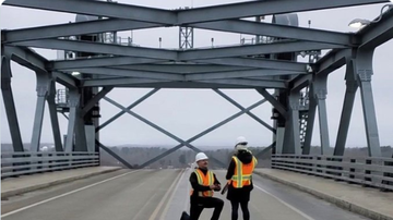 image for Man Raises The Bar And Bridge With His Marriage Proposal