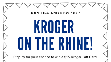 image for KISS 107.1 & Tiff at Kroger on the Rhine!