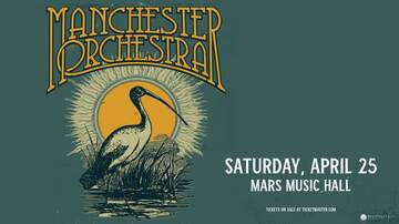 image for Manchester Orchestra | April 25th | Mars Music Hall
