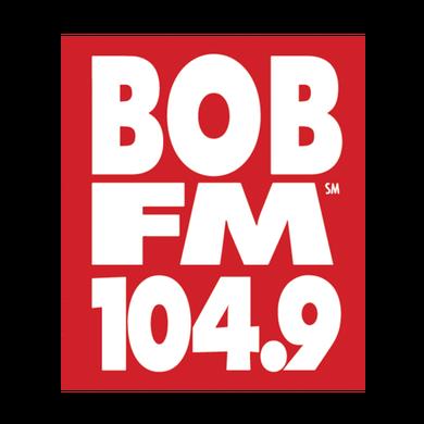 104.9 Bob FM logo
