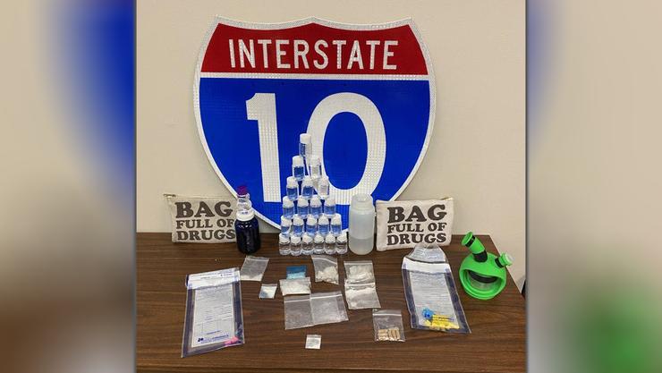 bag full of drugs