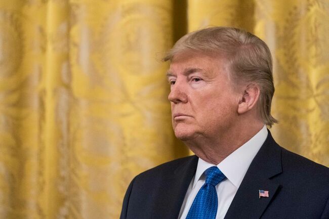 President Trump Delivers Remarks At White House Summit On Human Trafficking