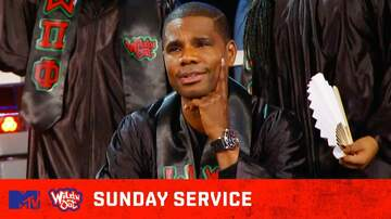 image for Kirk Franklin Takes the Cast To Church 🙏🎶Wild 'N Out