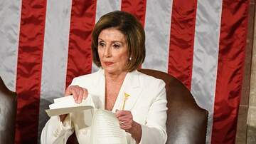 image for Pelosi went hulk on her copy of the SOTU Address