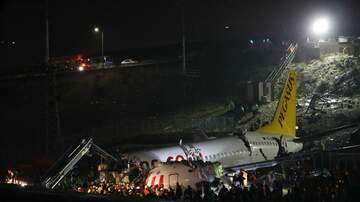 image for VIDEO: Turkish Plane Skids Off Runway Breaks Into Pieces!