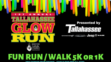image for Register now for the 1st Annual Tallahassee Glow Run!