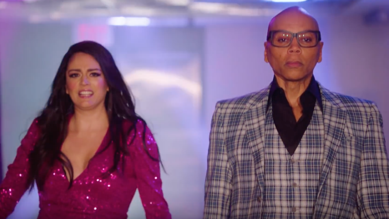 RuPaul & Cecily Strong 'Sissy That Walk' In 'SNL' Promo