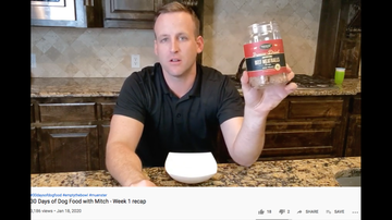 image for ***VIDEO*** Man Who Ate Nothing But Dog Food for a Month Feels Fantastic