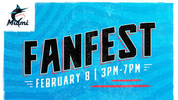 image for Miami Marlins Host Fanfest Febuary 8th from 3pm-7pm