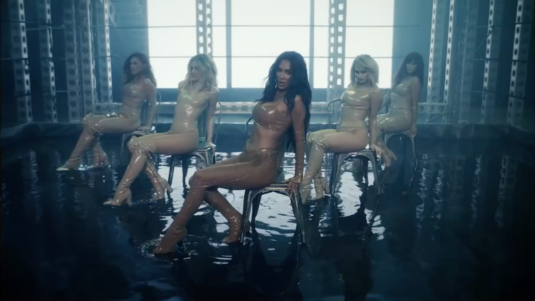 The Pussycat Dolls Are Wet & Wild In Video For Comeback Single 'React'