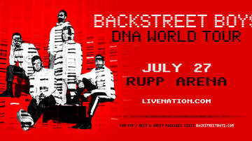image for The Backstreet Boys - DNA World Tour - Rupp Arena on July 27th