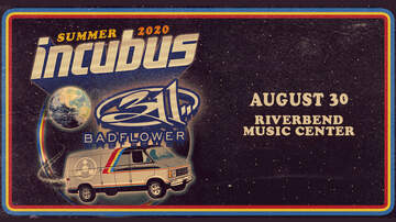 image for Incubus with 311 and special guest Badflower at Riverbend!