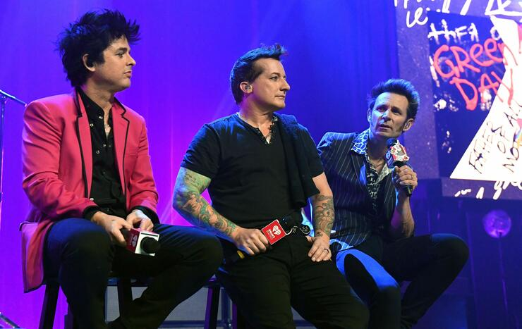 iHeartRadio Album Release Party With Green Day At The iHeartRadio Theater