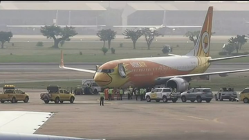image for Boeing 737 crushes tow truck driver to death