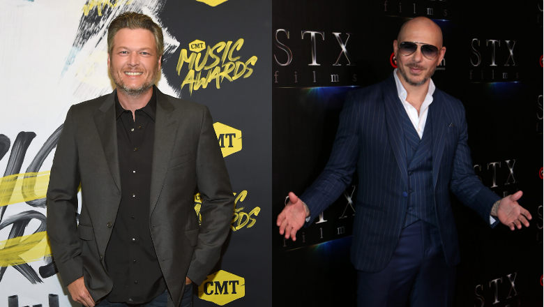 Blake Shelton And Pitbull Turn Up The Heat In New 'Get Ready' Video | 95.5 The Bull