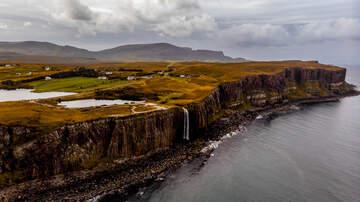 image for VIDEO: Waterfall Flows Backwards As Storm Ciara Hits Scotland