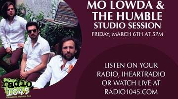 image for Mo Lowda & The Humble Live @ 5 Studio Session - Friday, March 6th