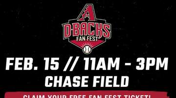 image for Dbacks To Host Fan Fest This Saturday At Chase Field