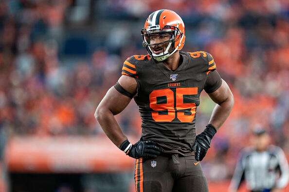Browns' Garrett Lobbying For Reinstatement