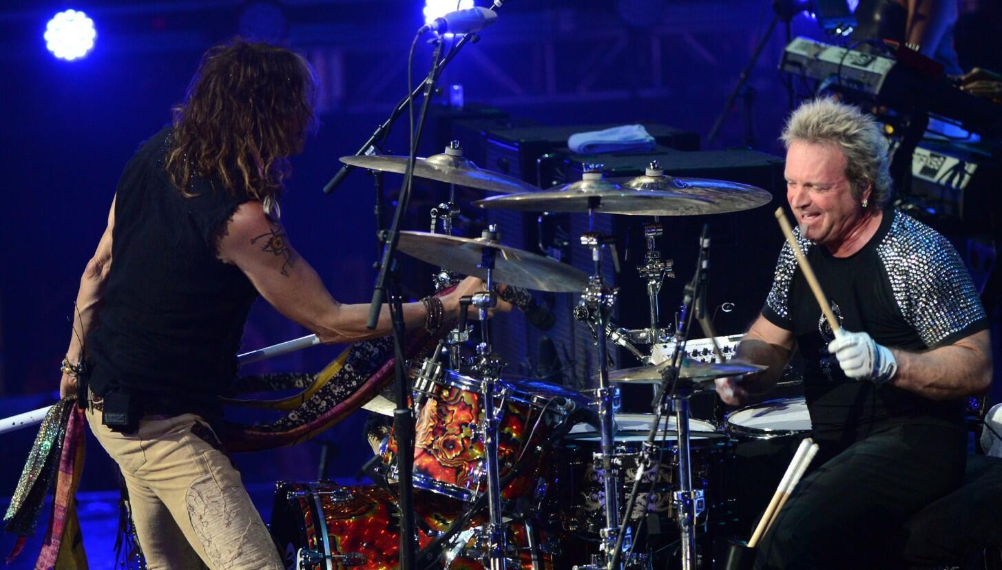 Joey Kramer Rejoins Aerosmith In Las Vegas