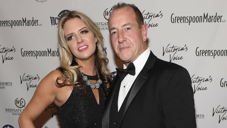 Lindsay Lohan's Dad, Michael, Arrested For Allegedly Choking Estranged Wife