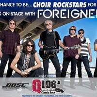 Your High School Choir Could Rock With Foreigner At The Adler Theatre!