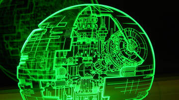 image for You Can Turn An IKEA Lamp Into A Star Wars EXPLODING DEATH STAR
