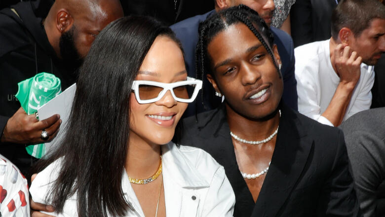 Rihanna & A$AP Rocky Fuel Dating Rumors With Late-Night Hang Out