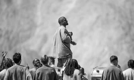 image for Kanye West brings Sunday Service back to Chicago