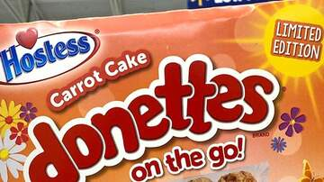 image for You Can Now Get Carrot Cake Donettes To Eat All Springtime Long