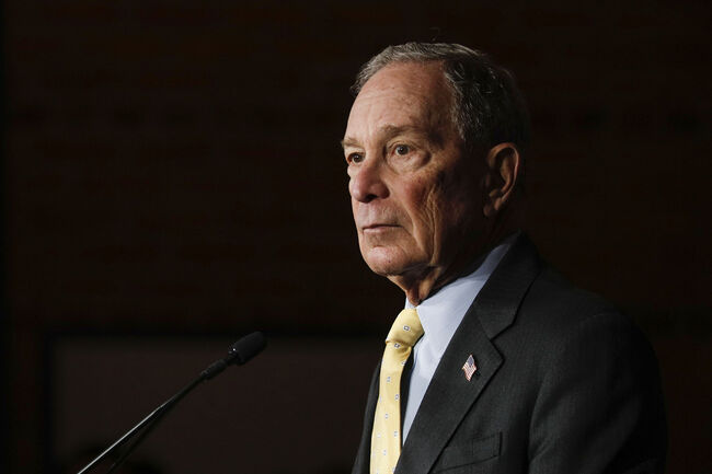 Democratic Presidential Candidate Mike Bloomberg Campaigns In Detroit